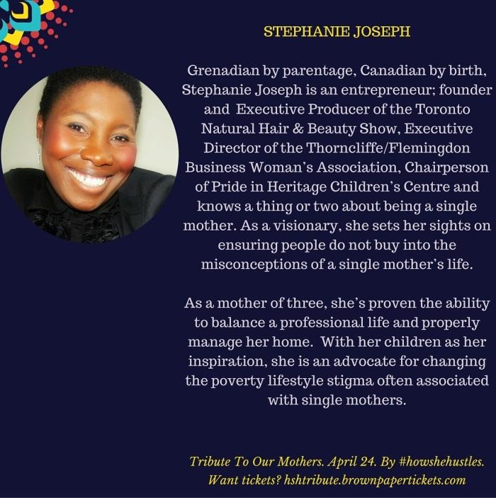 HSHTRIBUTE - STEPHANIE JOSEPH