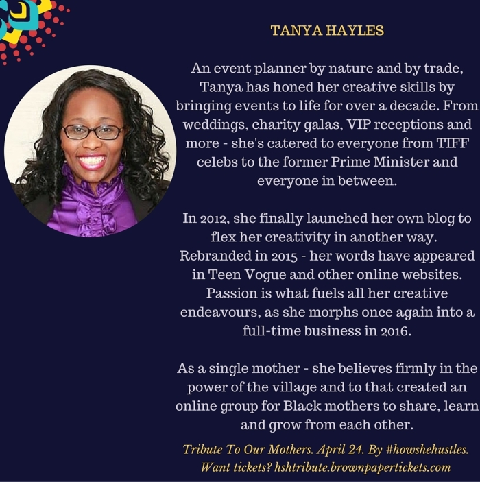 HSHTRIBUTE - TANYA HAYLES
